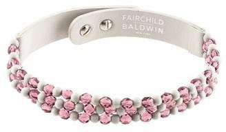 Fairchild Baldwin Leather, Crystal & Resin Choker