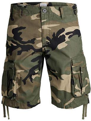 Jack and Jones Cotton Cargo Shorts