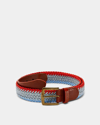 Ted Baker SPEAR Plaited golf belt