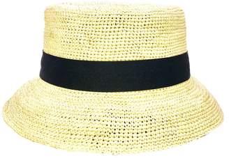 5ec9a7f5 La Marqueza Hats - Audrey Lampshade Straw Handwoven Panama Hat