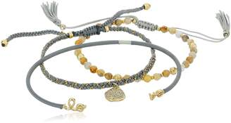 Tai Disc 3 Piece Bracelet Jewelry Set