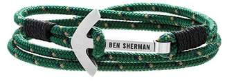 Ben Sherman Anchor Braided Cord Bracelet