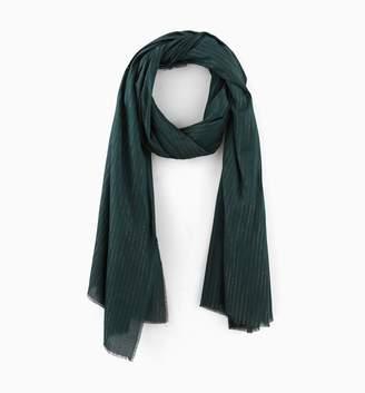Promod Glitzy striped cheche scarf