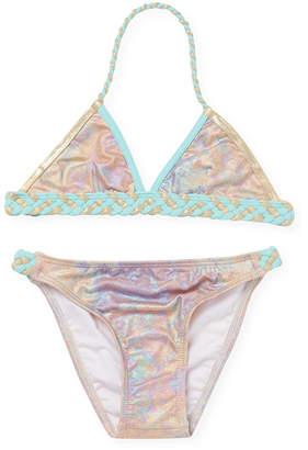 Little Marc Jacobs Tie-Dye Bikini Top & Bottom