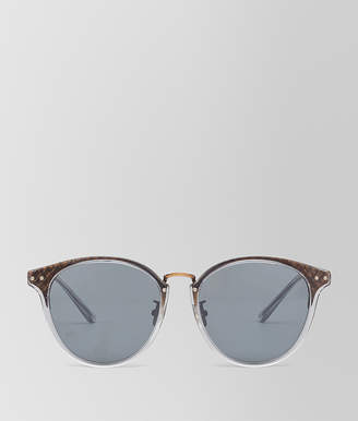 Bottega Veneta BRONZE METAL SUNGLASSES