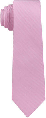 DKNY Men Street Unsolid Solid Slim Silk Tie