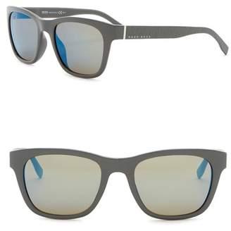 BOSS 53mm Square Sunglasses