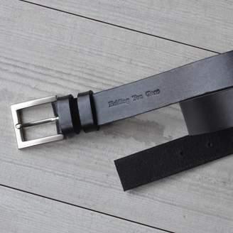 Sue Lowday Leather Handmade Italian Hide Suit Belt