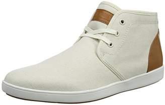 1ce7ce13f Steve Madden Footwear Men's Ferrin Sneaker Hi-Top Trainers, Beige, ...