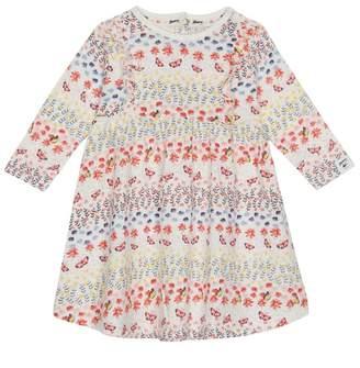 Mantaray Baby Girls' Multi-Coloured Floral Print Dress