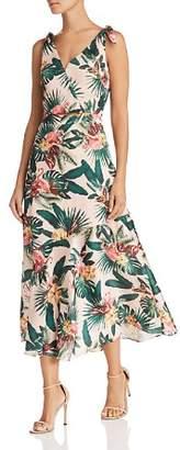Sam Edelman Sleeveless Flamingo-Print Dress