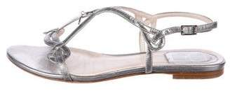 Christian Dior Leather Ballet Flats