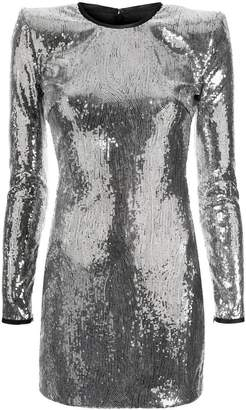 DSQUARED2 sequinned fitted dress