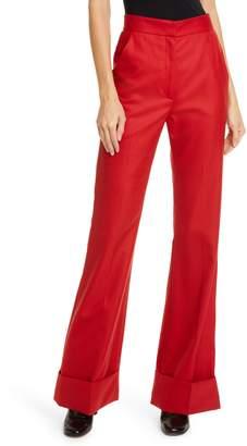 Smythe High Waist Flare Trousers