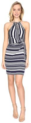 Jessica Simpson Bungee Faux Wrap Dress Women's Dress