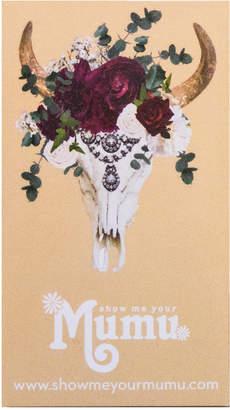 Show Me Your Mumu Mumu Gift Card ~ $250