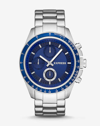 Express Madison Stainless Steel Multi-Function Watch - Gray