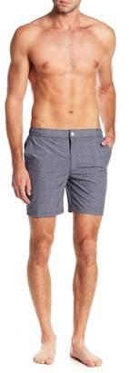 Trunks Mosmann Australia Gatsby Geometric Print Swim Shorts