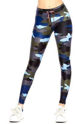 The Upside Abstract Camo Yoga Leggings