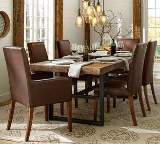 Pottery Barn Griffin Dining Table & Grayson Chair Set