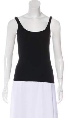 Ralph Lauren Black Label Sleeveless Cashmere Top
