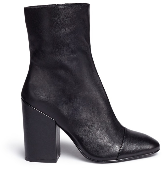 Ash Ash 'Flora' leather mid calf boots