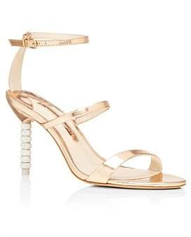 Sophia Webster Rosalind Crystal Mid Sandal 85