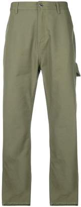 Helmut Lang cropped army trousers