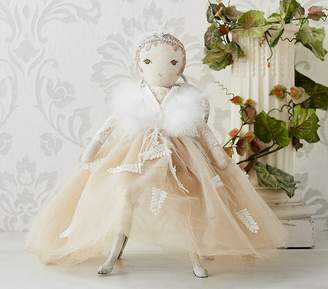 Pottery Barn Kids Monique Lhuillier Designer Doll Girl Ivory/Champagne- Skylar