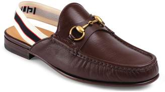 Gucci Horsebit Slingback Loafer Mule