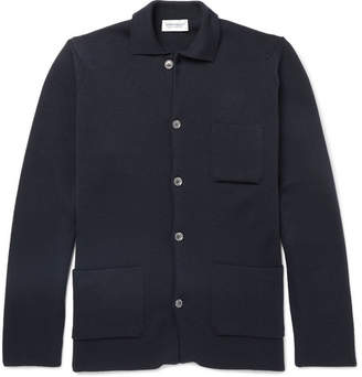 John Smedley Copper Merino Wool Jacket
