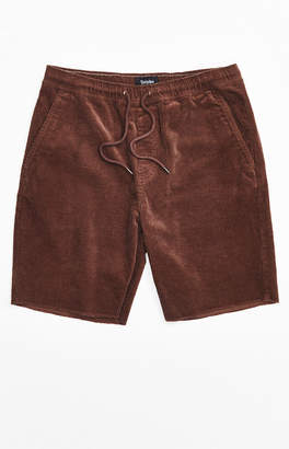Brixton Brown Madrid II Corduroy Shorts