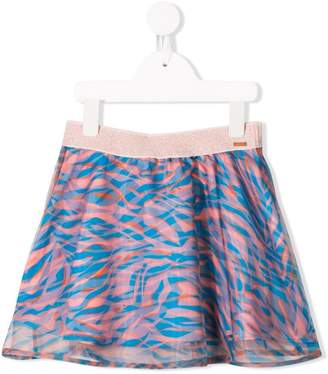 Kenzo printed gathered skirt