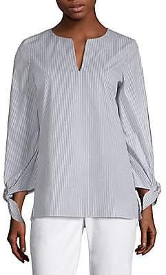 Lafayette 148 New York Women's Khloe Tie-Sleeve Blouse