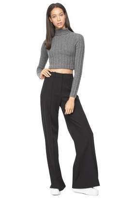 Milly Cashmere Cropped Sweater
