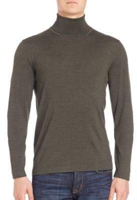 Saks Fifth Avenue Merino Wool & Silk Sweater