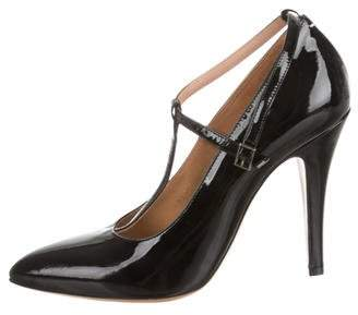 Maison Margiela Mary Jane Pointed-Toe Pumps w/ Tags