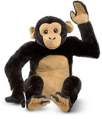 Melissa & Doug NEW Large Plush Chimpanzee