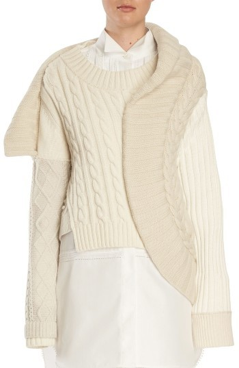 Burberry  Women's Burberry Cashmere Cable Knit Sweater