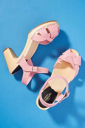 Swedish Hasbeens Kringlan Clog Sandals