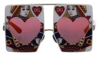 Dolce & Gabbana Queen Of Hearts Sunglasses
