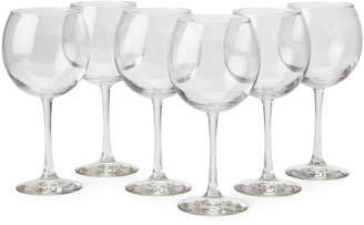 Libbey Set of 6 Vina Oversize Wine Glasses