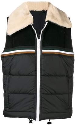 No.21 detachable sleeve jacket
