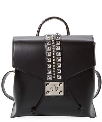 Mario Valentino Valentino By Olivier Soave Leather Backpack