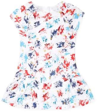 Little Marc Jacobs Floral Cotton Dress