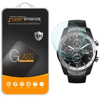 [3-Pack] Supershieldz for TicWatch Pro Tempered Glass Screen Protector, Anti-Scratch, Anti-Fingerprint, Bubble Free