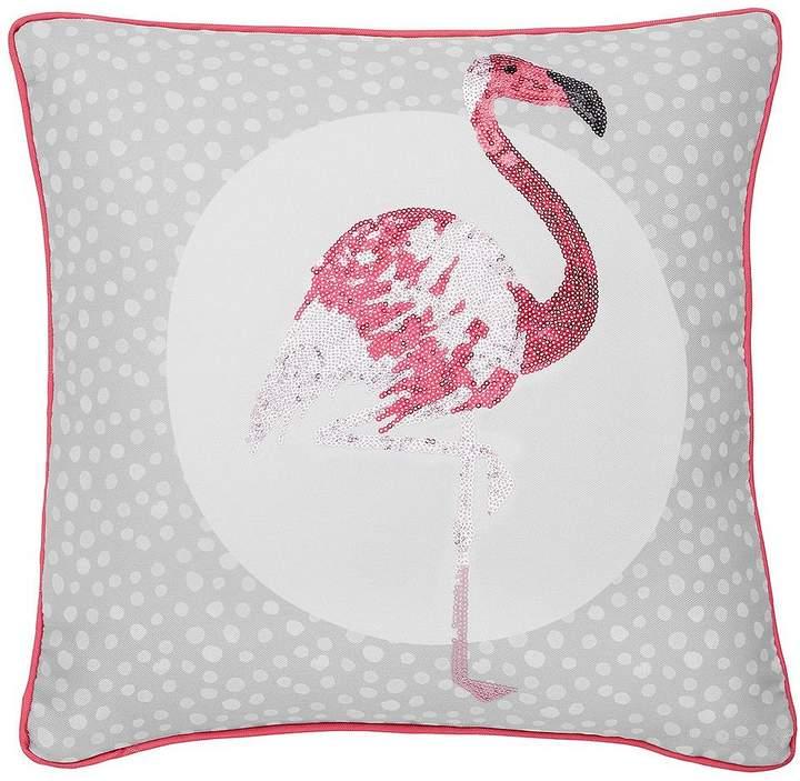 Catherine Lansfield Flamingos Cushion
