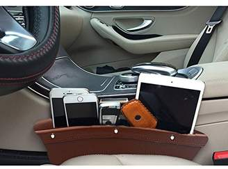 Gap M'Baby 1pc Car Seat Side Organizer Filler PU Leather Side Pocket Storage