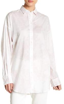 IRO Kelsy Floral Collared Blouse