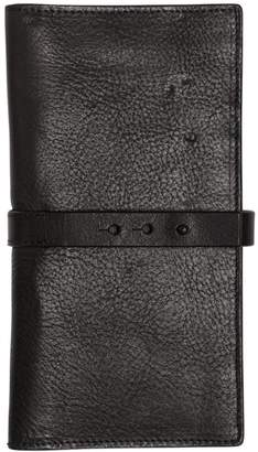 Isabel Benenato Smooth Leather Wallet With Strap